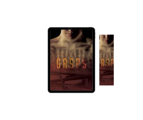 Roman de Maïlis, Gasps Saison 1, en numérique, et un marque-page. Visuel non contractuel
