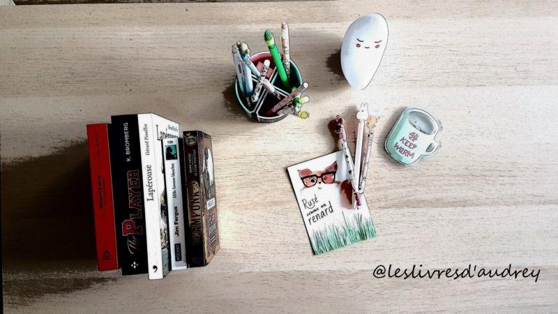 Les livres d'Audrey
